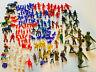 Vintage Plastic Toy Action Figures, Cowboys, War, Space Men Native American 150+