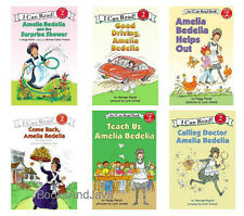 I CAN READ Level 2 Amelia Bedelia Good Driving,Helps Out,Teach Us,Come Back 6pk