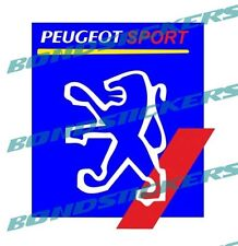 Pegatina PEUGEOT SPORT racing 207 206 205 GTI sticker decal