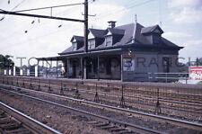 Original slide- PRR/PC station @ ELIZABETH NJ; 9/1969