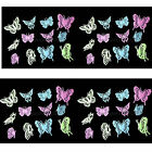 12PCS Home Decor Wall Decals  Luminescent wall stickers Butterfly Fluorescent