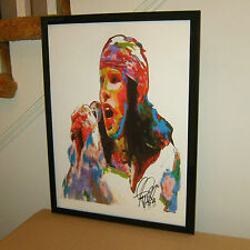 Ian Astbury, The Cult, Vocals, Singer, Hard Rock, Gothic Rock 18x24 Poster w/Coa
