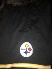 Pittsburgh Steelers Mitchell & Ness Swingman Black Shorts XL $75