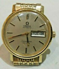 Vintage Omega Seamaster DeVille Day & Date Automatic Men's Wristwatch