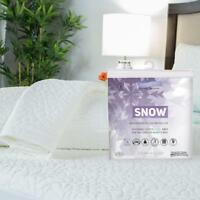 Protect-A-Bed Therm-A-Sleep Snow Cooling Pillow Cover Protector - Choose Size