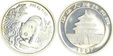 China 5 Yuan 1997, 1/2 Unze Panda  Stempelglanz, BU