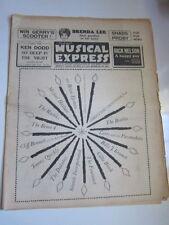 NME Dec 18 1964 Brenda Lee PJ Proby Twinkle Fourmost