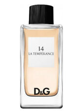 14 La Temperance Dolce & Gabbana Eau De Toilette 3.3 oz / 100 ML no box