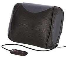 Bruntmor Shiatsu Cordless 3-D Kneading Chair Heated Massager with Wired Remote,
