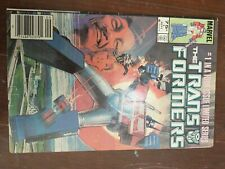 The TRANSFORMERS LIMITED SERIES # 1 MARVEL COMICS 1984 NEWSSTAND. good