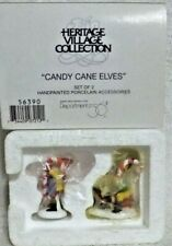 Dept 56 Heritage Village Candy Cane Elves - 56390