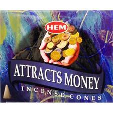 10-Cone Box Hem's Attracts Money Incense Cones!