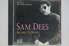 Sam Dees - Second To None  CD Album