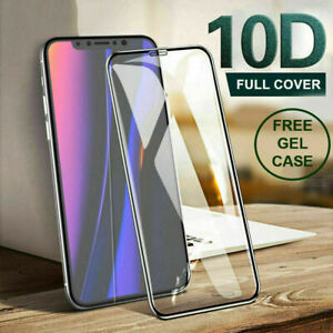 Screen Protector for iPhone SE 2020 11 Pro Xr 7 Gorila FULL COVER TEMPERED GLASS