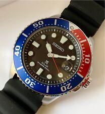 SNE439P1 Prospex Air Diver 200m Solar Pepsi Bezel Black Rubber Watch COD PayPal