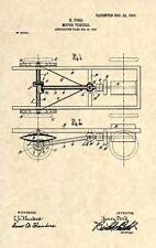 Official Henry Ford Model T US Patent Art Print - Antique 1903 Vintage Car 184