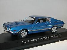 Premium X models, Ford Gran Torino Sport, 1972, Blu, 1/43 Limited Edition