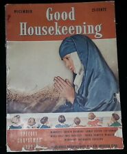 Good Housekeeping Magazine - December 1938 Special Christmas - Fair Condition