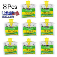 4X/8X Outdoor Disposable Fly Catcher Control Trap with Attractant Insecticide