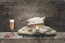 Guard Dog digital art picture photo pic funny humor animal beer surreal print