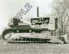 CATERPILLAR CAT D-9 19A PUSHER - Peirce Constr Co, Toledo 8x10 B&W Glossy Photo