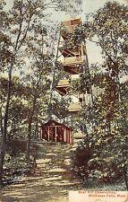 Middlesex Massachusetts Bear Hill Observatory Antique Postcard (K2262)