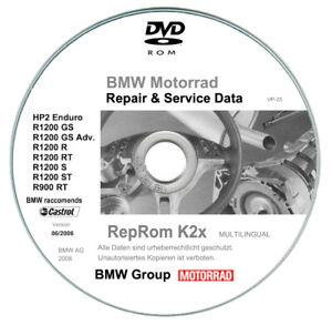 Bmw R1200 tutte le versioni (2004-2013)  manuali di riparazione su dvd