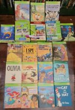 Leapfrog TAG Leapreader LEARN TO READ Early Reader 3 Book Sets W/17 Books + Pen