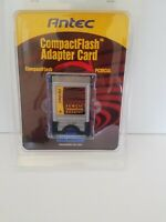 Antec PCMCIA CompactFlash Adapter PC Card Reader Compact Flash