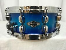 "Tama Starclassic Birch/Bubinga 14"" X 5.5"" Snare Drum/Twilight Blue Burst/NEW"