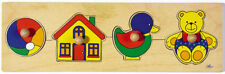 Steckpuzzle SPIELZEUG Holzpuzzle Holz für Kinder Puzzle