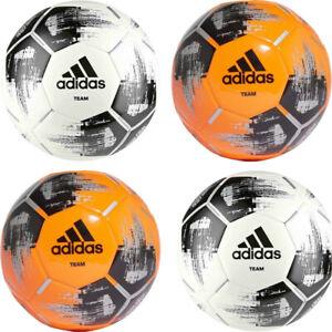 Adidas Football Balls TEAM Glider Training Footballs Soccer Ball Black White 5