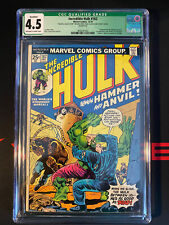 CGC 4.5 HULK 182 - Wolverine - Only Missing Value Stamp intact- BRAND NEW CASE