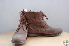 Damen Winter Herbst Schuh Stiefel Stiefelette beige Tamaris Größe 37 gefüttert