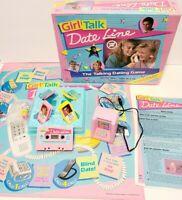 1989 Girl Talk Dateline Board Game Clean 100% Complete Golden Games Vintage