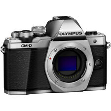 Olympus OM-D E-M10 Mark II Mirrorless Body Only (Silver)