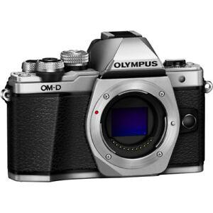 Olympus OM-D E-M10 Mark II Mirrorless Body Only (Silver)