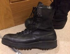 American Army Issue Belleville Goretex Jungle Vibram Combat Boots 9.5 R Made US