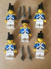 Lego Minifigures: X4 Imperial Soldiers PI060 And 1x Officer PI063 ALL armed  (D)