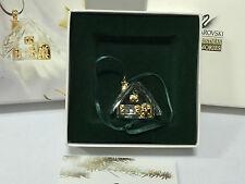 Swarovski Memories Ornament Lebkuchenhaus 3,8 cm mit Verpackung ! Top Zustand !