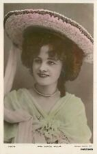C-1910 Stage Actress Hand Tint Gertie Millar Rotary Photo Rppc Postcard 10714