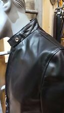 SCHOTT NYC RACER 654 LEATHER COWHIDE JACKET SIZE MEDIUM