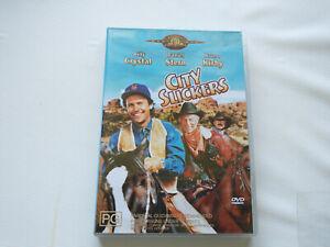 CITY SLICKERS (DVD, 1991) - Billy CRYSTAL - Region 4 🇦🇺 Seller!