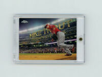 "RARE 2016 Topps Chrome ""Perspective"" SILVER PRIZM MIKE TROUT HOLO▪️LA Angels MVP"