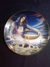 """Franklin Mint Royal Doulton """"The Harvest of Life"""" Limited Edition plate."""