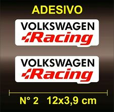 Adesivi Stickers VOLKSWAGEN RACING  BMW AUDI ABARTH ALFA ROMEO MERCEDES