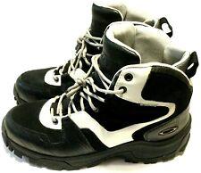 RARE OAKLEY FIELD GEAR BOOTS Men's Size 10 Black & White Waterproof Hiking Shoes
