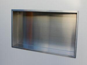 Shower Niche /Bathroom Niche (#304 Stainless Steel 625mm x 325mm x 100mm)