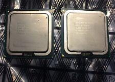 Matching Pair (2) Intel Xeon E5420 2.50 GHz 12mb 1333mhz Quad-Core SLANV