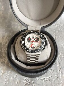 Tag heuer formula 1 chronograph cac1110 stainless steel men's watch